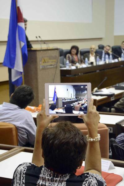 CUBA-SESIONA EN LA HABANA ICOM-ULEPICC 2015