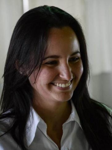 Jennifer Bello, presidenta de la Federación Estudiantil Universitaria (FEU)