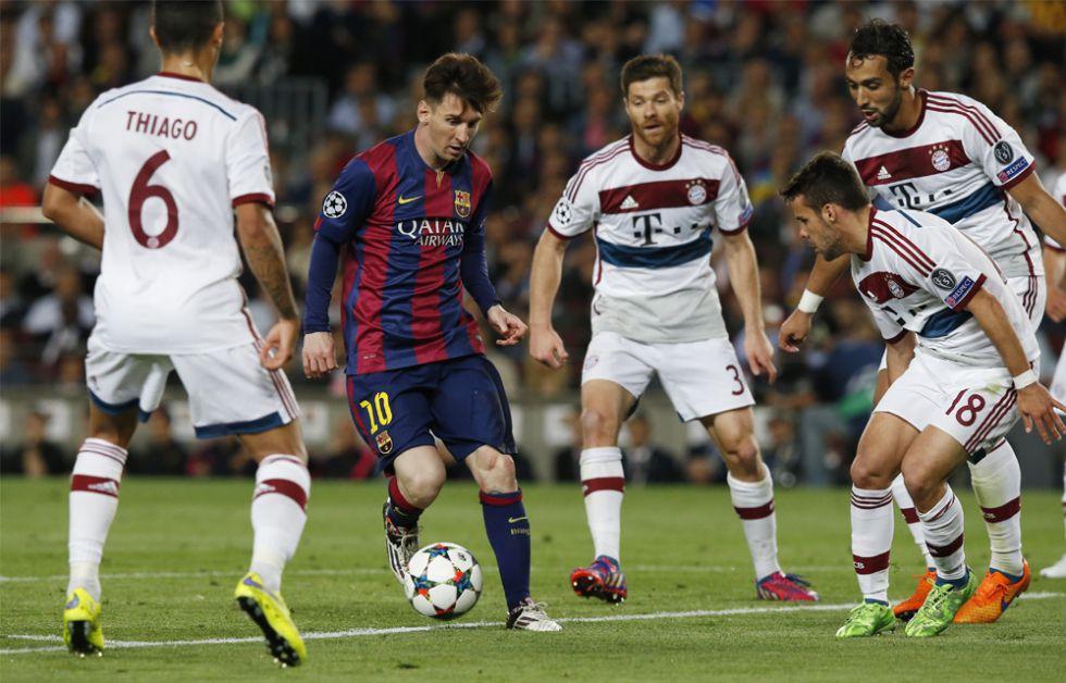 Apuestas: Barça y Bayern, favoritos para la Champions