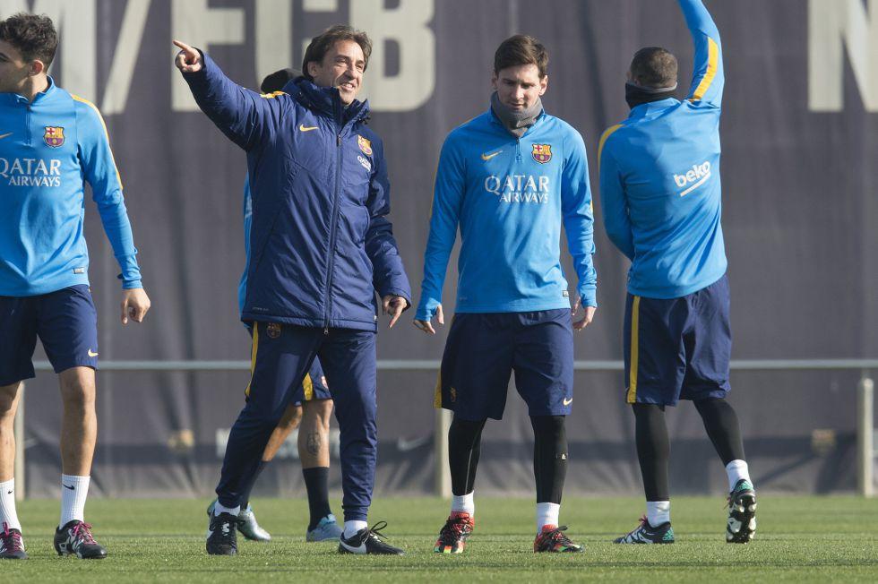 """Messi volvió a entrenarse: """"Está en perfectas condiciones"""""""
