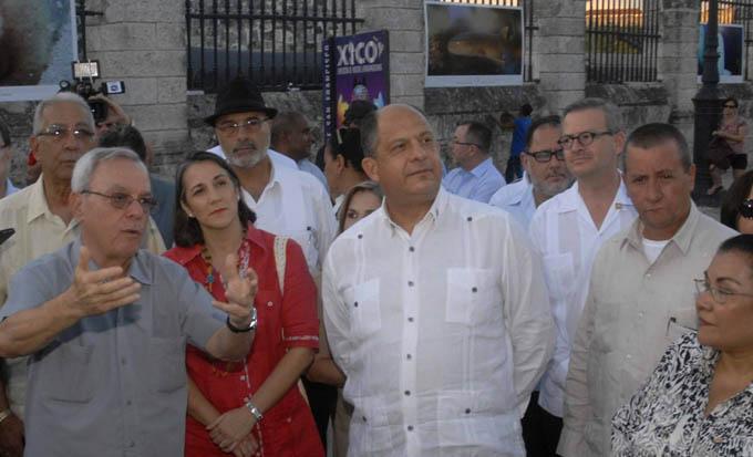 Presidente de Costa Rica conocerá avances de Biotecnología cubana