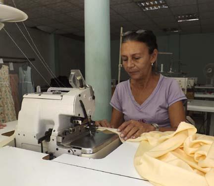 Manzanillo, producción textil