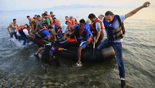 Casi un millón de inmigrantes llega a Europa en 2015