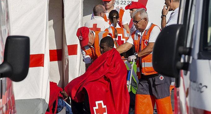 Mueren once migrantes cuando intentaban llegar a España
