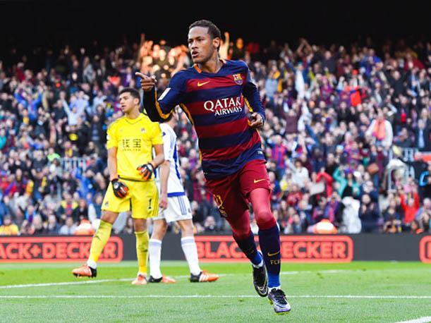 Neymar sigue de baja en el entrenamiento del Barça