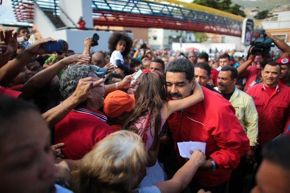 Nicolás Maduro, votaciones Venezuela 2