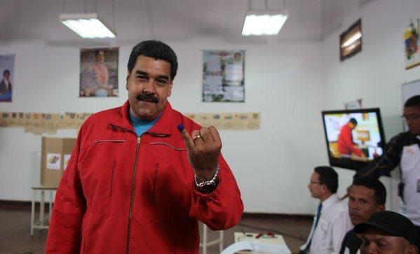Nicolás Maduro, votaciones Venezuela 4