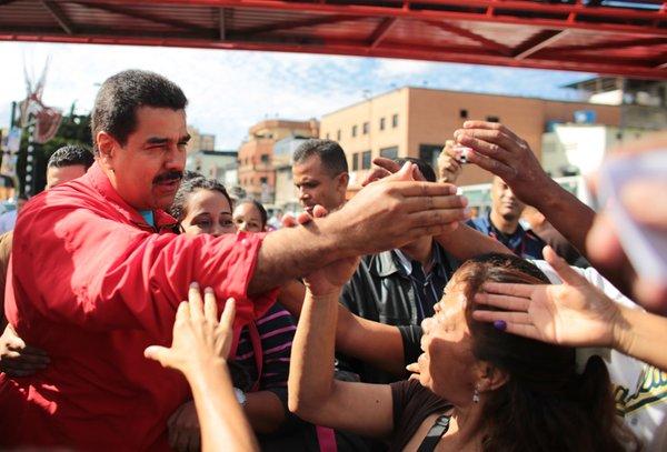 Nicolás Maduro, votaciones Venezuela 5
