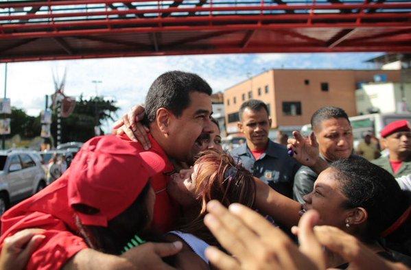 Nicolás Maduro, votaciones Venezuela3