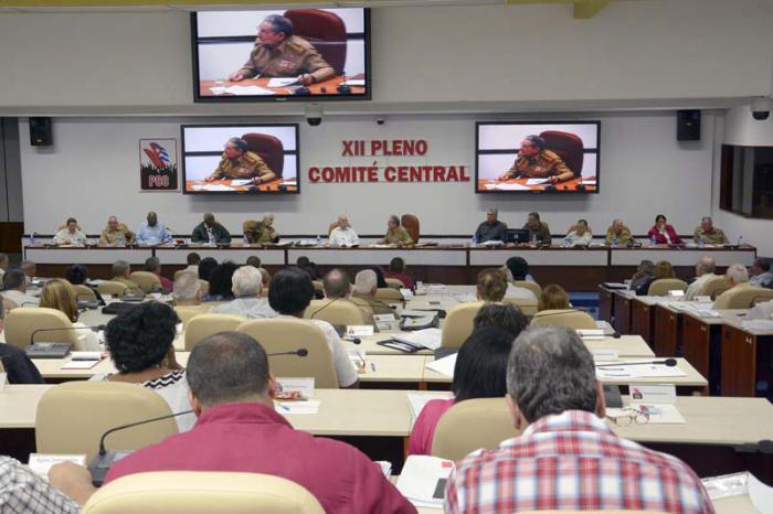 Pleno del Comité Central