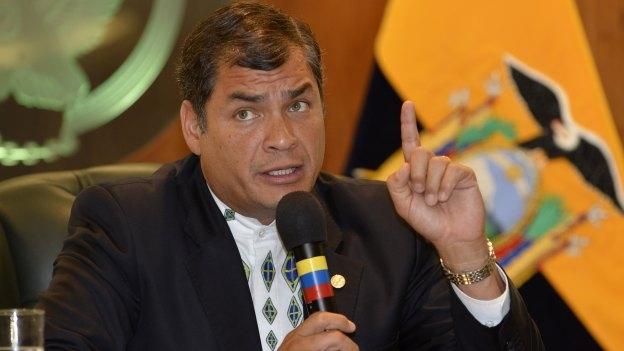 Presidente de Ecuador desenmascara a la oposición en su país