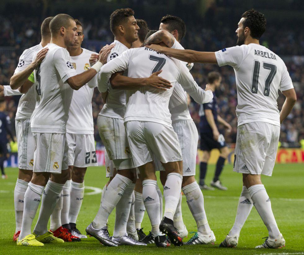 El Real Madrid cierra 2015 como líder del ránking UEFA