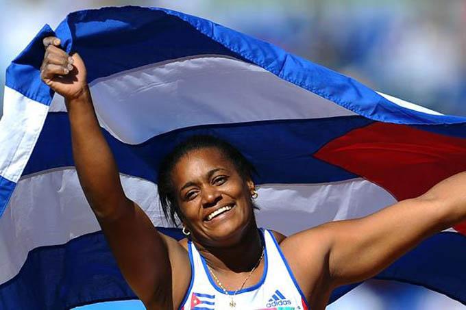 Una de las atletas cubanas más carimásticas / FOTO Internet