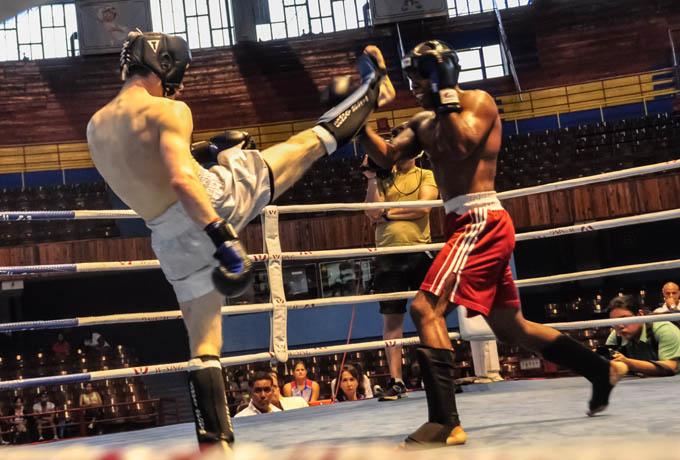 kick boxing Cuba-Estados Unidos