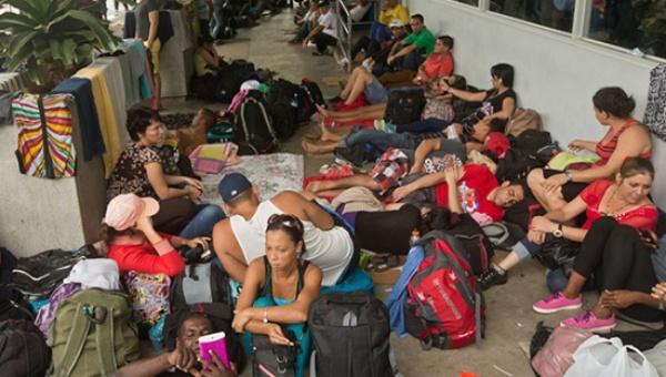 Costa Rica anuncia fecha de salida de migrantes cubanos