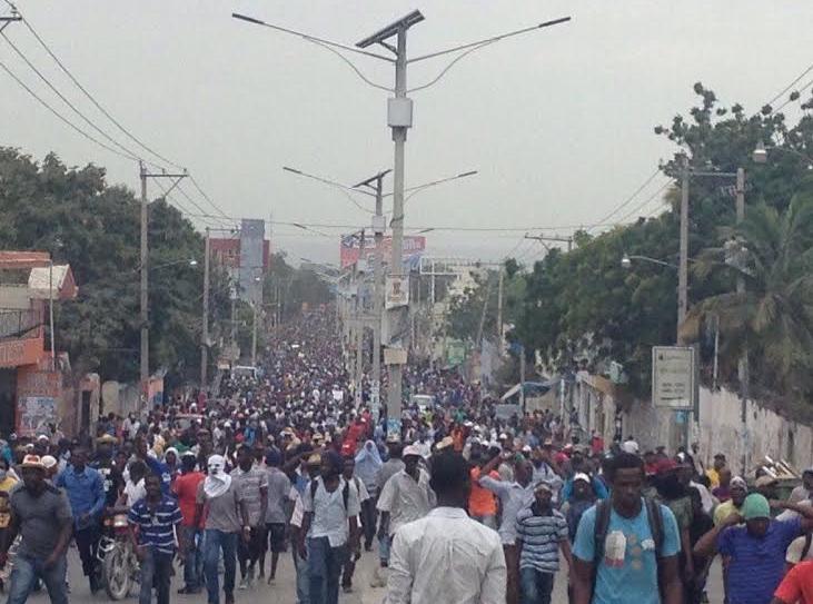 Se espera continúen protestas en Haití
