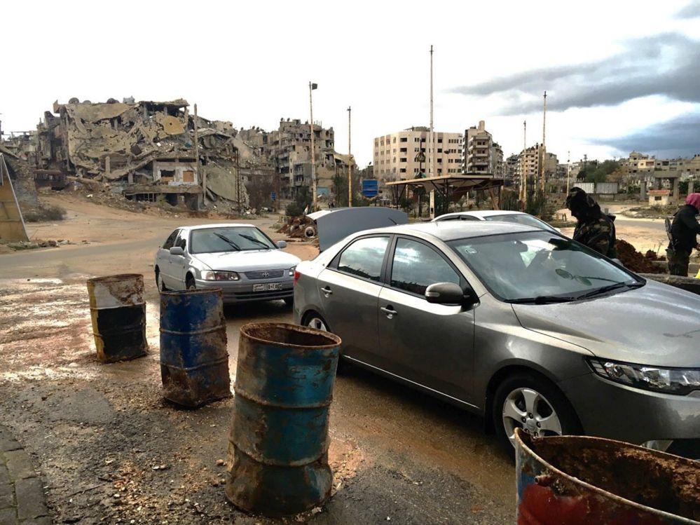 Homs: la ciudad fantasma de Siria (fotos)