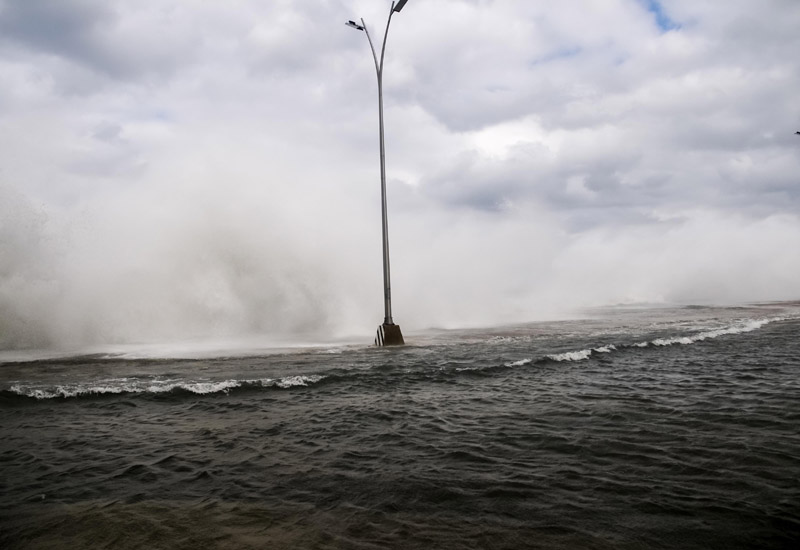 Inundaciones costeras afectan a la capital cubana (+ fotos)