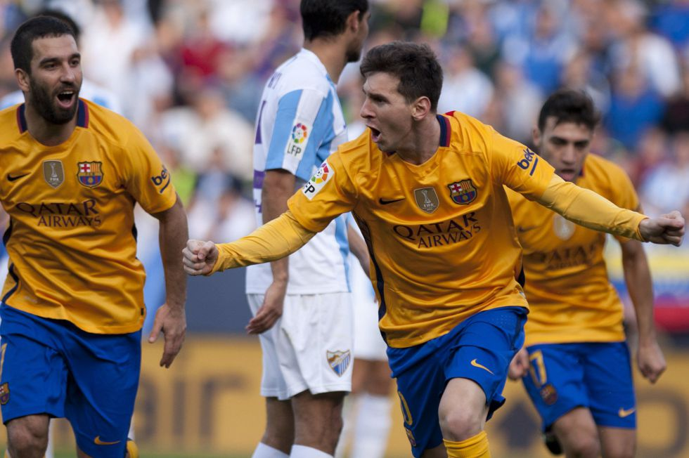 Messi acuesta líder al Barça
