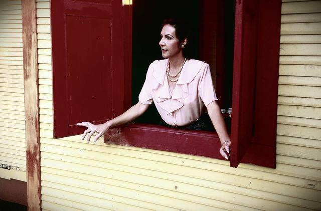 Lucy Milanés, en la caracterización de Celia Sanchez Manduley
