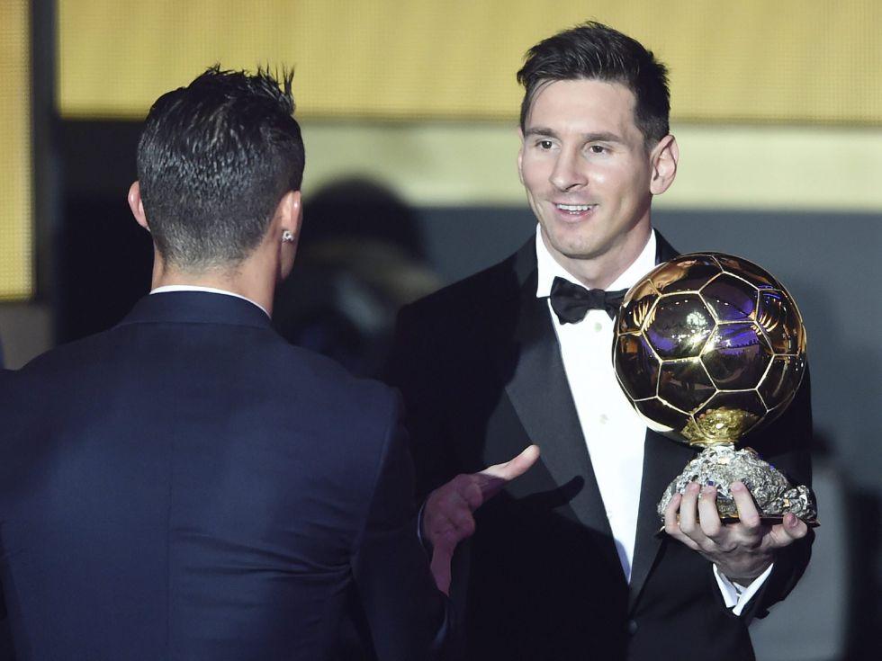 Messi, Balón de Oro