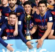 Messi, Neymar y Suarez