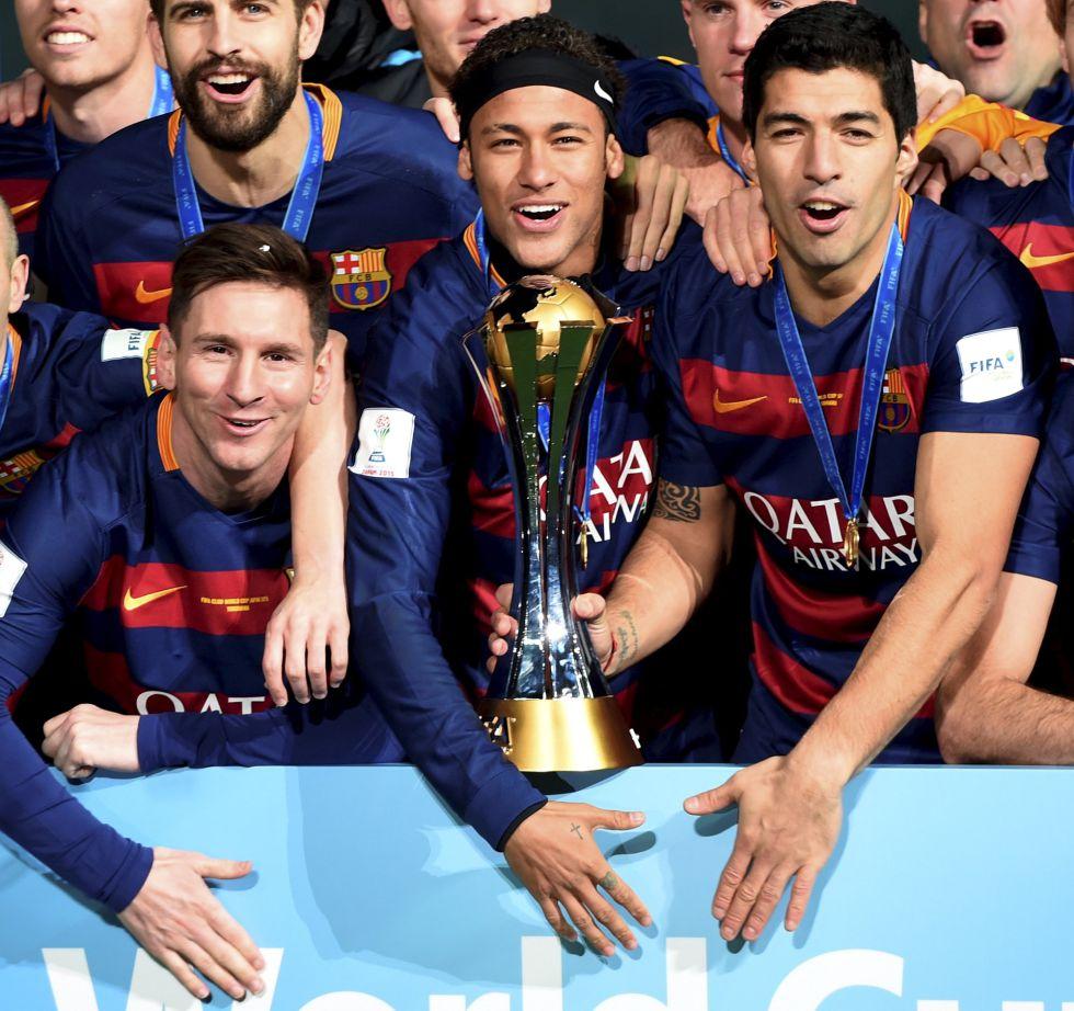 L'Equipe: Messi, Neymar y Luis Suárez, los 3 mejores de 2015