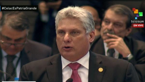 Discurso de Díaz-Canel en Cumbre de la Celac