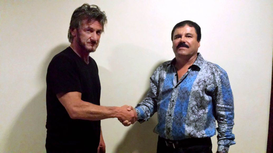 El actor Sean Penn entrevistó en secreto a 'El Chapo'