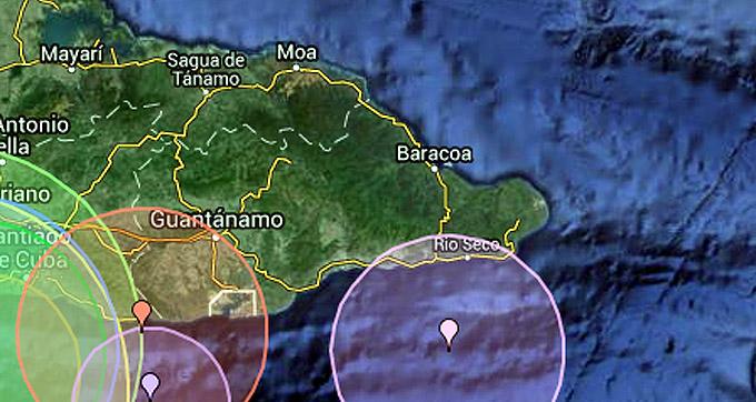 Sismo perceptible en las provincias de Santiago y Guantánamo