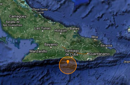 Nuevo sismo perceptible en localidades de Santiago, Guantánamo, Granma y Holguín