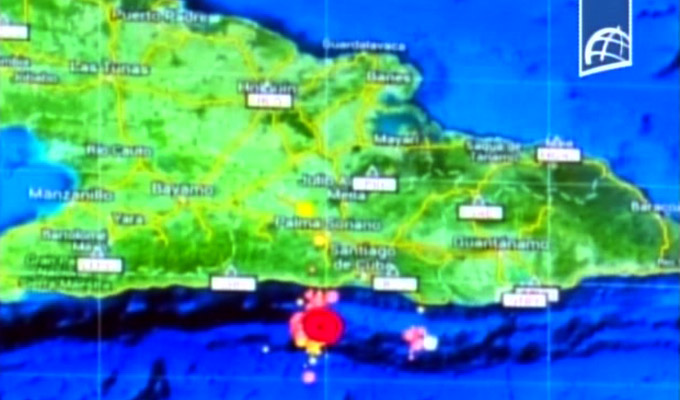 Sismos en Santiago de Cuba