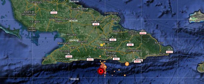 Sismos en el Oriente de Cuba