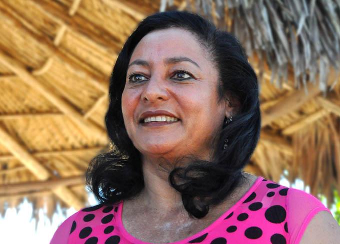 Yaquelín Puebla Lachel, presidenta de la Anap en Granma