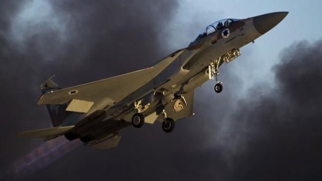 Caza F-15 de la fuerza aérea israelí /Foto Reuters