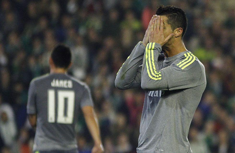 Cristiano sólo le ha dado 2 puntos al Madrid con sus goles