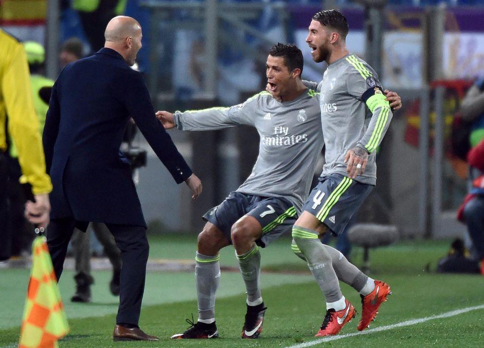 Cristiano, elegido mejor jugador de la semana de la Champions