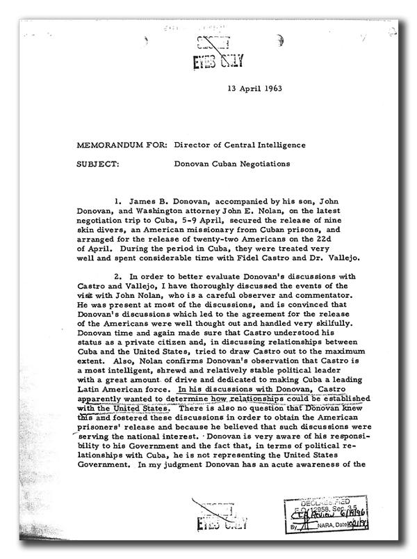 El descabellado método con el que la CIA intentó matar a Fidel Castro
