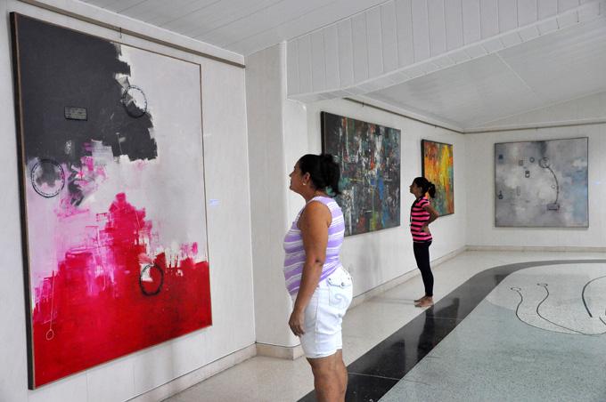 Exposición Densos en el III Encuentro de arte abstracto Formar 2016.