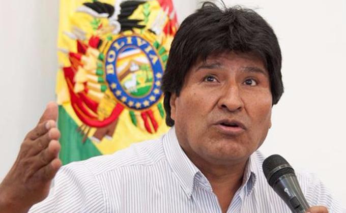 Ratifica Evo Morales confianza en los movimientos sociales