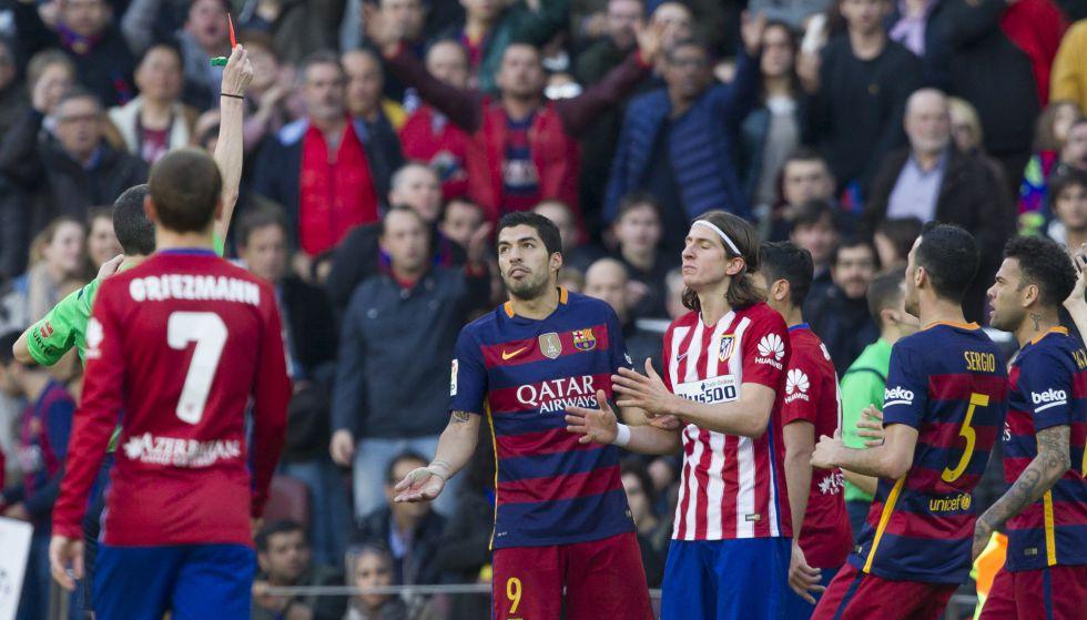 Tres partidos de sanción a Filipe, que podrá jugar el derbi