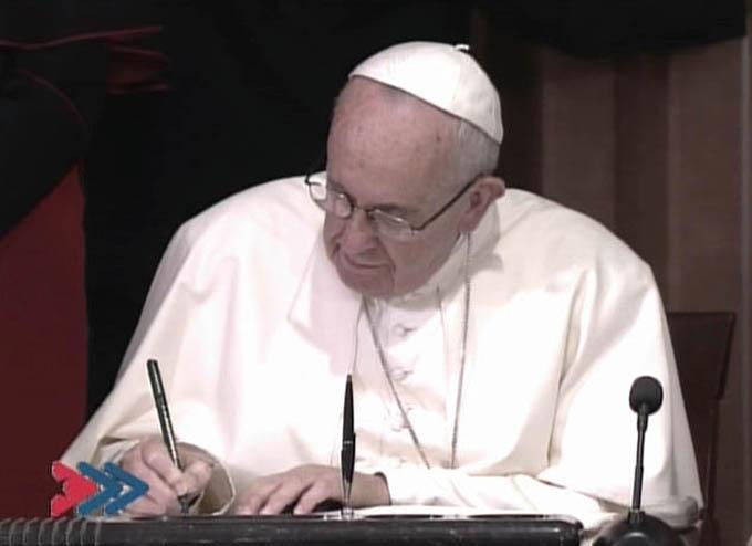 Papa Francisco y patriarca Kirill firman declaración conjunta