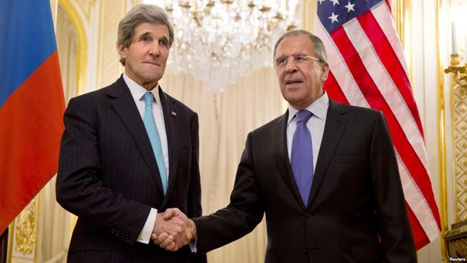 John Kerry ha dialogado con Serguéi Lavrov sobre Siria
