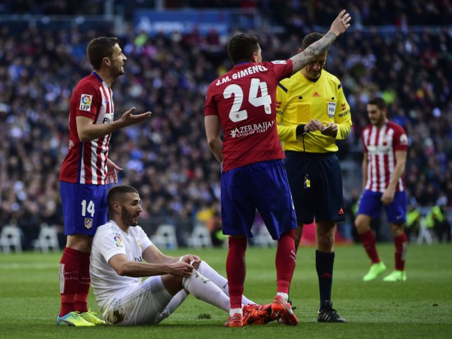 Benzema estará fuera de tres a cuatro semanas por su lesión en el bíceps femoral