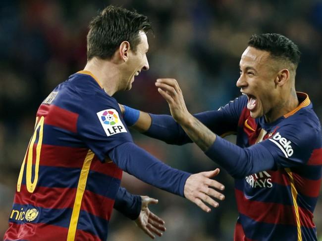 Lio Messi y Neymar