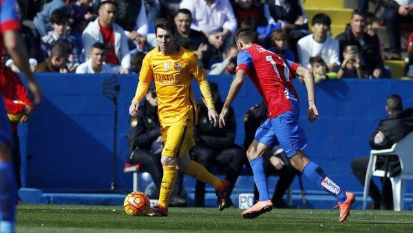 Messi ya ha salido del hospital tras someterse a una litotricia