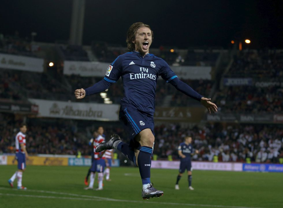 El Real Madrid es Modric