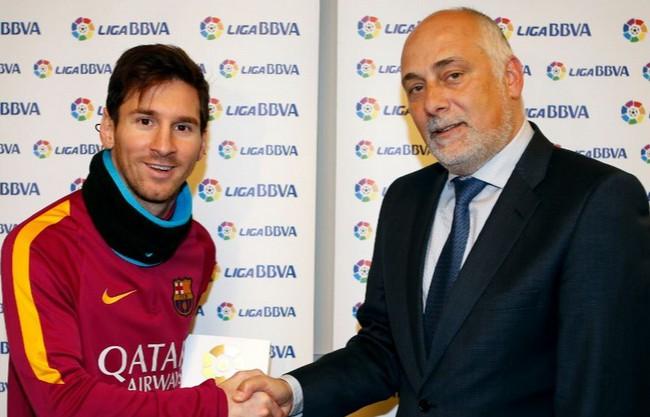Messi mejor de enero en la liga bbva
