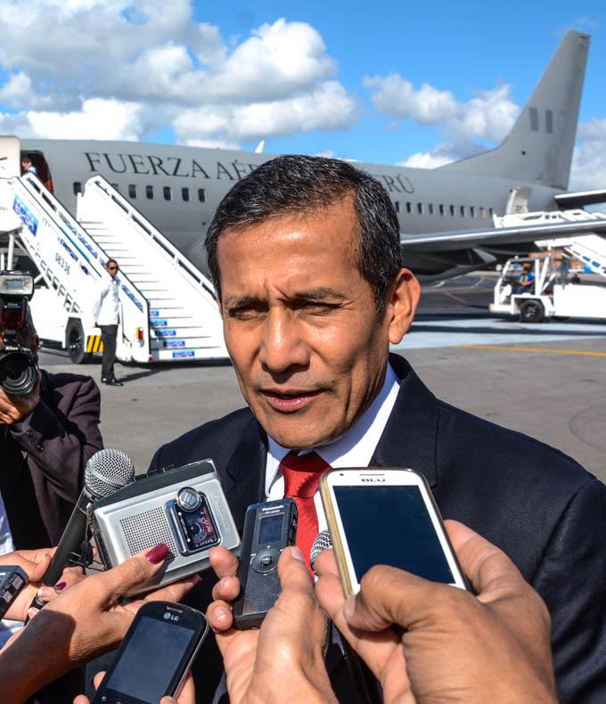 En Cuba presidente Ollanta Humala para ampliar nexos comerciales