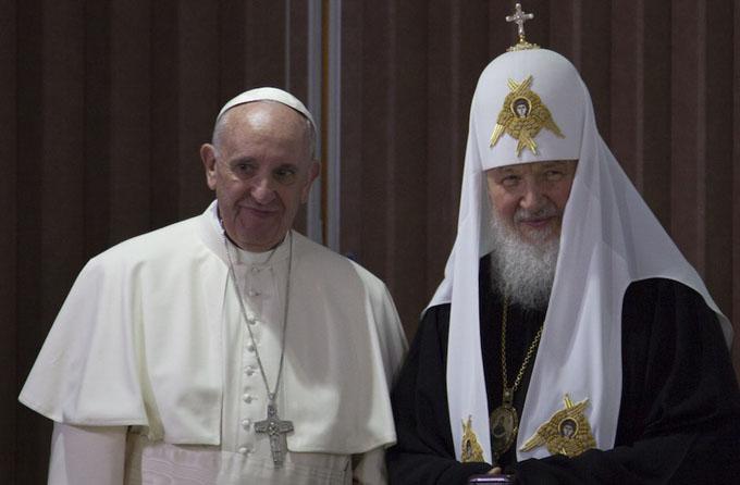 Kirill y Francisco: Cuba símbolo de esperanza del Nuevo Mundo